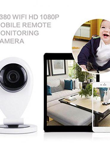 Cewaal-US-Plug-Systme-de-camra-de-scurit--domicile-HD-1080P-Camra-IP-sans-fil-Surveillance-de-bb-Machine--carte-P2P-Vision-jour-nuit-Camra-intrieure-extrieure-pour-la-maison-Bb-0