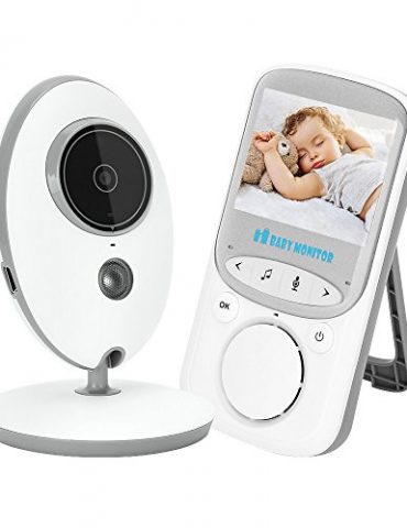 KYG-Moniteur-Bb-Numrique-sans-Fil-24GHz-Interphone-Bidirectionnel-cran-LCD-24-Camra-Vision-Nocturne-Grand-Angle-de-Vue-Longue-Porte-Temprature-Surveille-Berceuses-Intgrs-Babyphone-pour-Parents-Bb--0