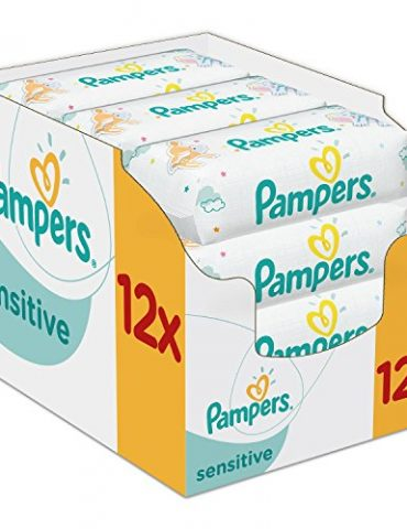 Pampers-12-Paquets-de-Lingettes-Sensitive-0