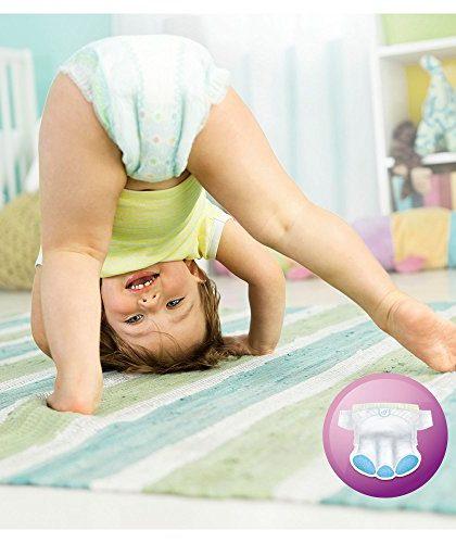 Couche pampers active fit pour bébé qui marche