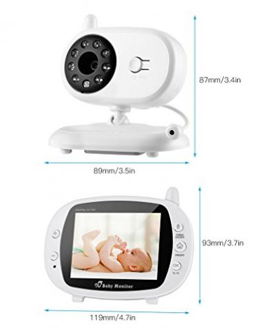 coute-Bb-sans-Fil-Longue-Porte-Vision-Nocturne-Babyphone-avec-Camra-Grand-Angle-Interphone-Bidirectionnel-Batterie-Puissant-Temprature-Dtecte-Berceuse-Intgr-0-1